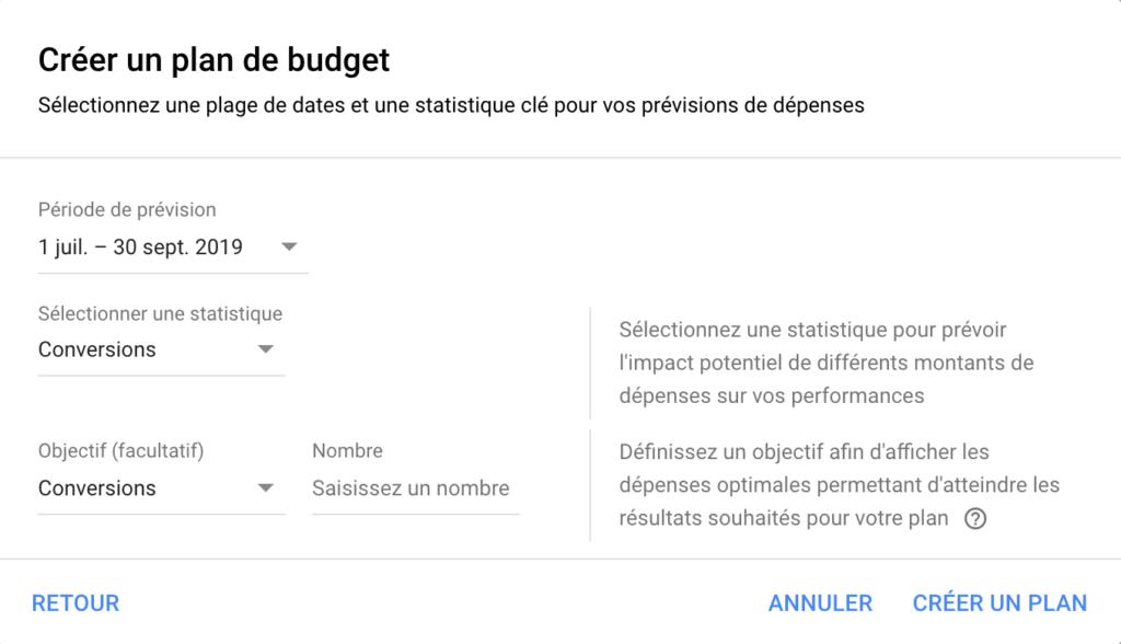 Planificateur de budget